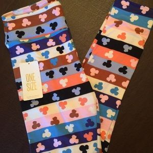 Lularoe Disney Collection Minnie Mouse OS Leggings